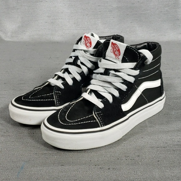 Vans Shoes | Boys 25 Kids Black High